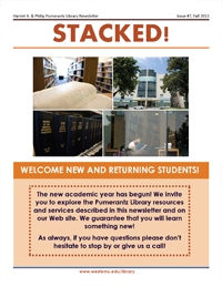 Fall 2013 Library Newsletter