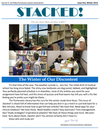 Winter 2014 Library Newsletter