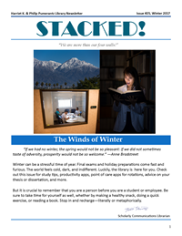 Winter 2017 Library Newsletter